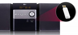 Микросистема LG CM1560 черный 10Вт/CD/CDRW/FM/USB/BT