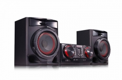 Минисистема LG CJ44 черный 720Вт/CD/CDRW/FM/USB/BT