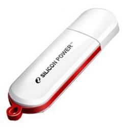 Флеш Диск Silicon Power 16Gb LuxMini 320 SP016GBUF2320V1W USB2.0 белый