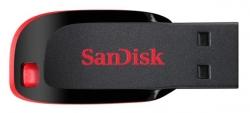 Флеш Диск Sandisk 16Gb Cruzer Blade SDCZ50-016G-B35 USB2.0 черный