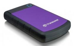 Жесткий диск Transcend USB 3.0 1Tb TS1TSJ25H3P StoreJet 25H3P (5400 об/мин) 2.5 фиолетовый