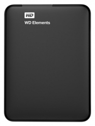Жесткий диск WD Original USB 3.0 500Gb WDBUZG5000ABK-WESN Elements Portable 2.5