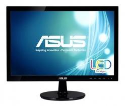 Монитор Asus 18.5 VS197DE черный TN+film LED 5ms 16:9 матовая 200cd 1366x768 D-Sub