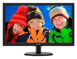 Монитор Philips 21.5 223V5LHSB (00/01) черный TN+film LED 5ms 16:9 HDMI матовая 250cd 1920x1080 D-Sub FHD 2.61кг