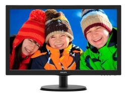 Монитор Philips 21.5 223V5LSB (00/01) черный TN+film LED 5ms 16:9 DVI матовая 250cd 1920x1080 D-Sub FHD 2.61кг