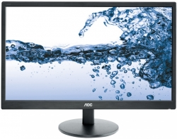 Монитор AOC 21.5 Value Line E2270SWHN(/01) черный TN+film LED 5ms 16:9 HDMI матовая 700:1 200cd 1920x1080 D-Sub FHD 2.7кг