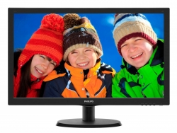 Монитор Philips 21.5 223V5LSB2 (10/62) черный TN+film LED 5ms 16:9 матовая 200cd 1920x1080 D-Sub 2.61кг