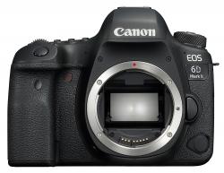 Зеркальный Фотоаппарат Canon EOS 6D Mark II черный 20.2Mpix 3 1080p Full HD SDXC Li-ion (без объектива)