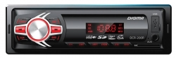 Автомагнитола Digma DCR-200R 1DIN 4x45Вт