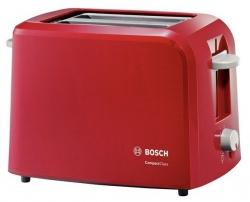 Тостер Bosch TAT3A014 980Вт красный