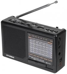 Радиоприемник портативный Hyundai H-PSR140 серебристый