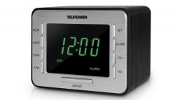 Радиоприемник настольный Telefunken TF-1508 черный/серебристый