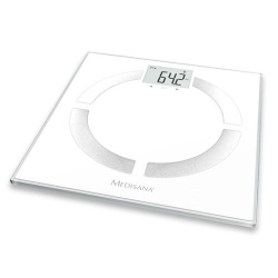 Весы напольные электронные Medisana BS 444 Connect белый