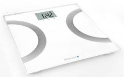 Весы напольные электронные Medisana BS 445 Connect белый/серебристый