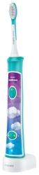Зубная щетка электрическая Philips Sonicare For Kids HX6322/04 белый