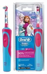 Зубная щетка электрическая Oral-B Stages Power Frozen голубой