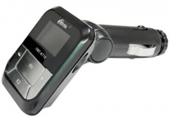 Автомобильный FM-модулятор Ritmix FMT-A710 черный MicroSD USB PDU