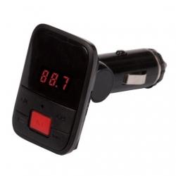 Автомобильный FM-модулятор Ritmix FMT-A745 черный SD BT USB PDU
