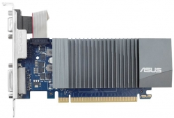 Видеокарта Asus PCI-E GT710-SL-1GD5-BRK nVidia GeForce GT 710 1024Mb 32bit GDDR5 954/1800 DVIx1/HDMIx1/CRTx1/HDCP Ret low profile