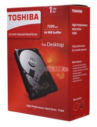 Жесткий диск Toshiba SATA-III 1Tb HDWD110EZSTA P300 (7200rpm) 64Mb 3.5 Rtl