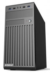 Корпус Accord ACC-B202 черный без БП mATX 2xUSB2.0 2xUSB3.0 audio