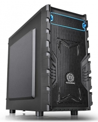 Корпус Thermaltake Versa H13 черный без БП mATX 4x120mm 1xUSB2.0 1xUSB3.0 audio bott PSU