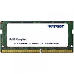 Память DDR4 4Gb 2133MHz Patriot PSD44G213381S RTL PC4-17000 CL15 SO-DIMM 260-pin 1.5В single rank