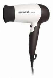 Фен Starwind SHT4517 1600Вт темно-коричневый/белый