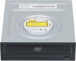 Привод DVD-ROM LG DH18NS61 черный SATA внутренний oem