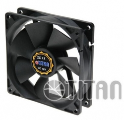 Вентилятор Titan TFD-9225L12Z 90x90x25mm 3-pin 22dB Ret