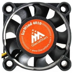 Вентилятор Glacialtech IceWind GS4010 40x40x10mm 3-pin 4-pin (Molex)26dB Bulk