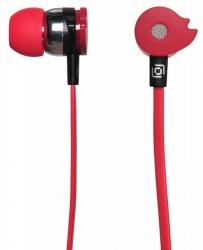 Наушники вкладыши Oklick HP-S-210 1.2м красный проводные (в ушной раковине)