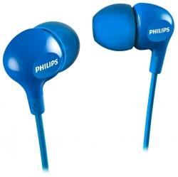 Наушники вкладыши Philips SHE3550BL 1.2м синий проводные (в ушной раковине)