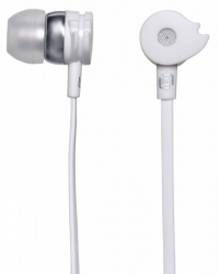 Наушники вкладыши Oklick HP-S-210 1.2м белый проводные (в ушной раковине)