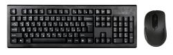 Клавиатура + мышь A4 7100N клав:черный мышь:черный USB беспроводная