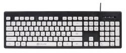 Клавиатура Oklick 580M черный USB slim