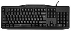Клавиатура Oklick 170M черный USB