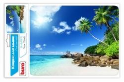 Коврик для мыши Buro BU-M10012 рисунок/пляж