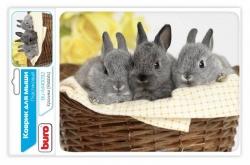 Коврик для мыши Buro BU-M40092 рисунок/кролики