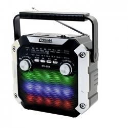Радиоприемник портативный Сигнал РП-228 черный USB microSD