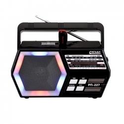 Радиоприемник портативный Сигнал РП-227 черный USB microSD