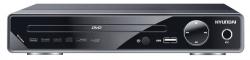 Плеер DVD Hyundai H-DVD200 черный ПДУ