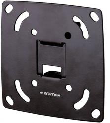 Кронштейн для телевизора Kromax OPTIMA-100 черный 10 -28 макс.25кг настенный фиксированный