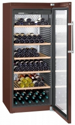 Винный шкаф Liebherr WKT 4552 коричневый (однокамерный)