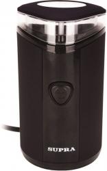 Кофемолка Supra CGS-311 150Вт сист.помол.:ротац.нож вместим.:40гр черный