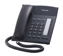 Телефон проводной Panasonic KX-TS2382RUB черный