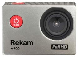 Экшн-камера Rekam A100 1xCMOS 12Mpix серебристый