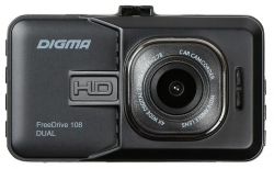 Видеорегистратор Digma FreeDrive 108 DUAL черный 1080x1920 1080p 140гр.