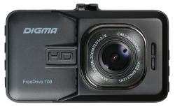 Видеорегистратор Digma FreeDrive 108 черный 1080x1920 1080p 140гр.