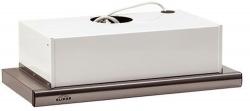 Вытяжка встраиваемая Elikor Интегра 45П-400-В2Л кремовый управление: кнопочное (1 мотор)